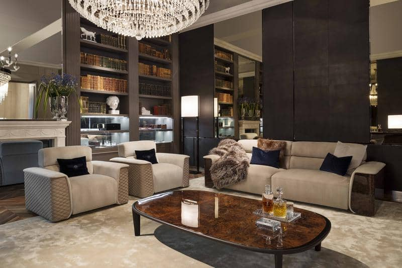 BE Lux armchairs_Cliffden coffee table and Lux Royce sofa